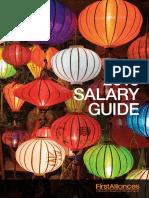 Vietnam Salary 2018 First Alliances