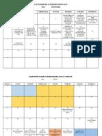 Calendario de Acividades Mensuales a3