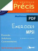 Précis mathématique  Exercices.pdf
