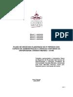 Roteiro Plano de Negocios - Marcello Ferreira Versão 2010-1