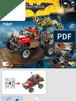 lego killer croc instructions set