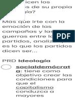 ¿Que dicen los partidos de su propia ideología?.pdf
