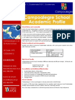 campoalegre school profile 2018