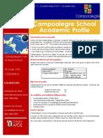 campoalegre school profile 2018