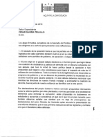 Carta Senadores a Gaviria