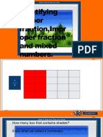 Identifying proper fraction,Improper fraction and mixed numbers.pptx
