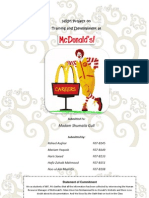 HRM Project Mc Donald