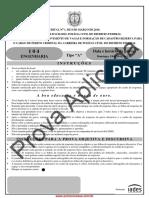 Prova PCDF Engenharia - Iades
