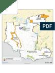 Carte des aires protégées en Outaouais