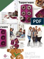 Catalogue Tupperware Automne Fetes 2018