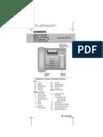 Manual Siemens Euroset 2015