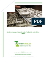 Petroleum Industry Financial Analysis Workshop3