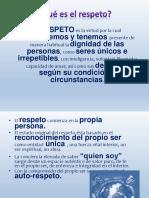 Ppt Respeto 4B