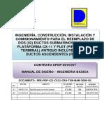 Manual de Diseño - Ingenieria Basica