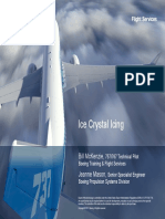 Boeing Ice Crystal Icing
