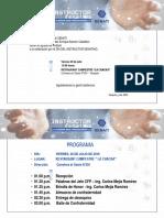 Invitación y Programación Tarapoto