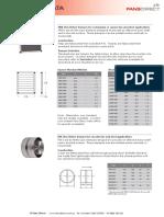 RSK Non Return Damper Product Datasheet