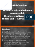 geography middle east culture religion and ethnic groupsrev