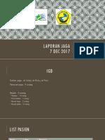Laporan Jaga IGD 7-12-2017.pptx