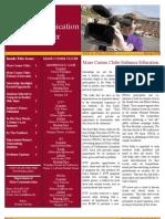 Spring 2009 Mass Com Newsletter