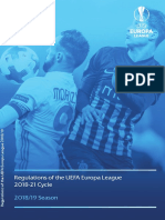 Regulations of the UEFA Europa League 2018-21 Cycle