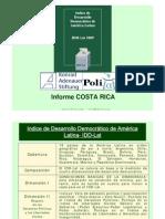 Indice de Desarrollo Democrático AL 2009
