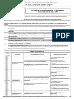 Check List - Licenciamento de Obras - Pbh
