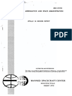 Apollo 16 - Mission Operations Report