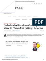 Underfunded Pensions Could Spark Wave of 'Precedent Setting' Reforms