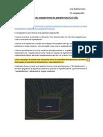 Estudio de Solapamiento en Explanaciones en Civil 3d