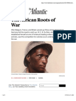 The African Roots of War - The Atlantic
