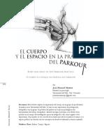 El Cuerpo y El Espacio en La Práctica Del Parkour