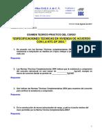 Examen de Curso de especificaciones tecnicas en vivienda de acuerdo con NTC_2004.pdf