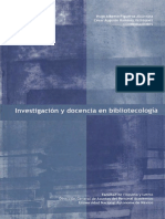 Investigación y Docencia en Bibliotecologia