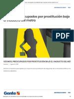 Vecinos, Preocupados Por Prostitución Bajo El Viaducto Del Metro _ Gente.com.Co