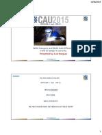 CAUx2015 Joint Efficiency
