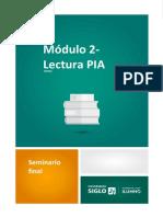 Modulo 2- Pia Lectura