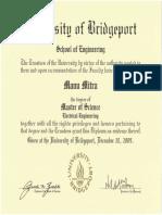 01. Masters in Electrical Engineering Certificate