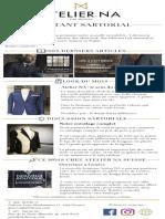 Newsletter - Atelier NA