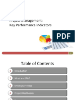Project Management Key Performance Indicators