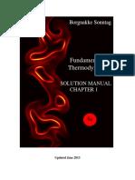 Borgnakke Fundamentals of Thermodynamics 8th Solution Manual