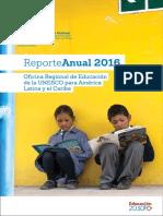 Reporte Anual UNESCO