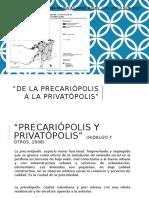 Mega Proyectos, Barrios Cerrados Segmentación Fisica y Social Del Espacio Cfg II Sem 2017