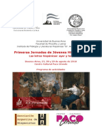 Jornadas de Hispanistas