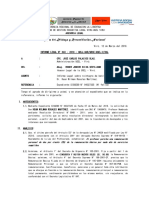 Informe Legal N° 043.18 -  sobre reintegro de bonificación personal – Sra. Hean Wilman Rosales Martínez