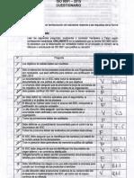 Cuestionario ISO 9001