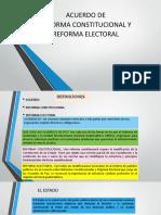 Acuerdos de Reforma