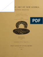 Decorative art of New Guinea, incised designs