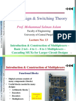 Lec 13_ Intro & Const. of Multiplexers