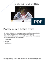 Proceso de Lectura Critica Expo
